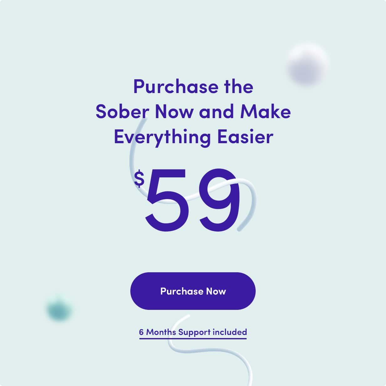 Buy Sober WordPress theme
