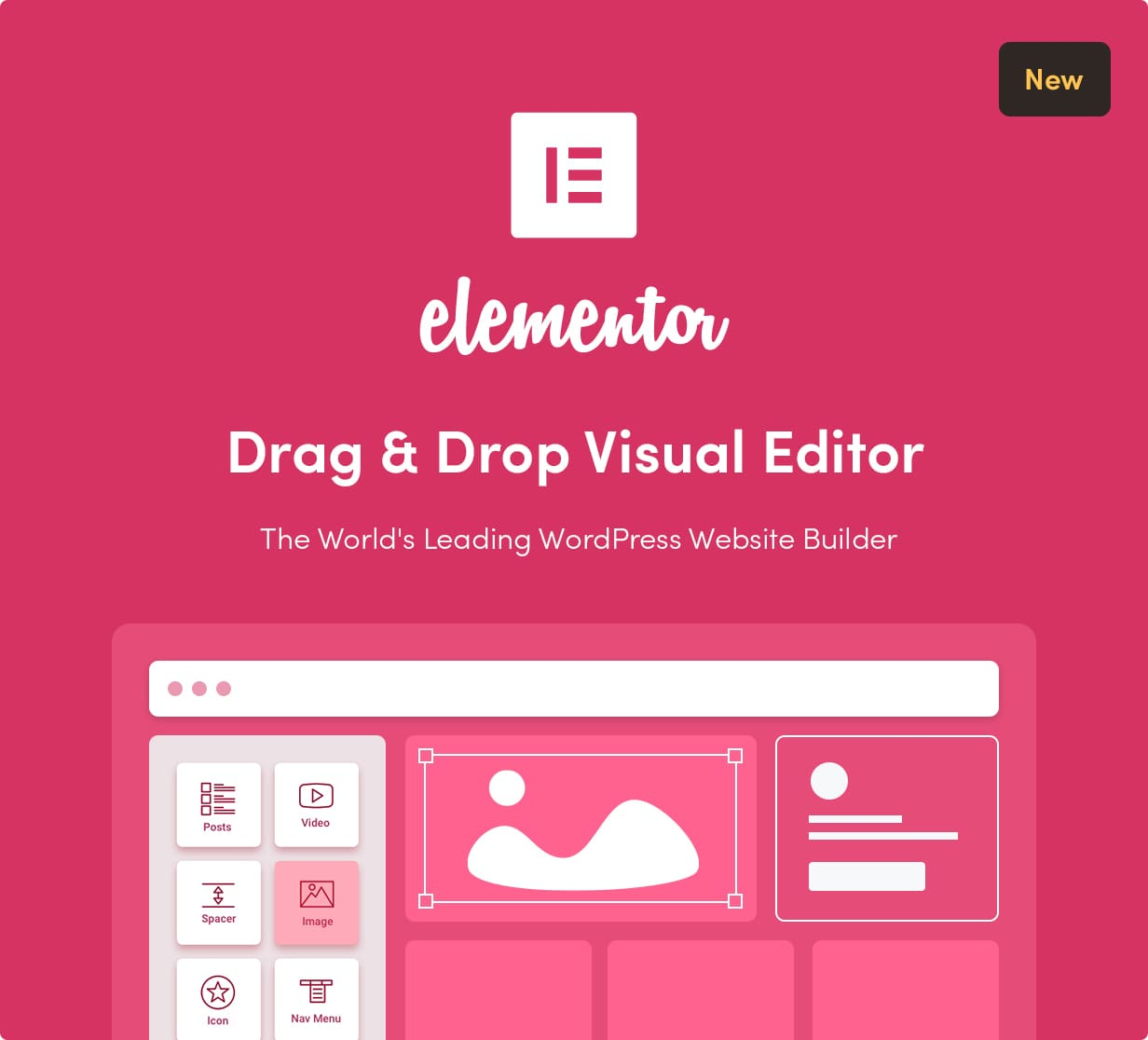 Sober WordPress theme with Elementor builder